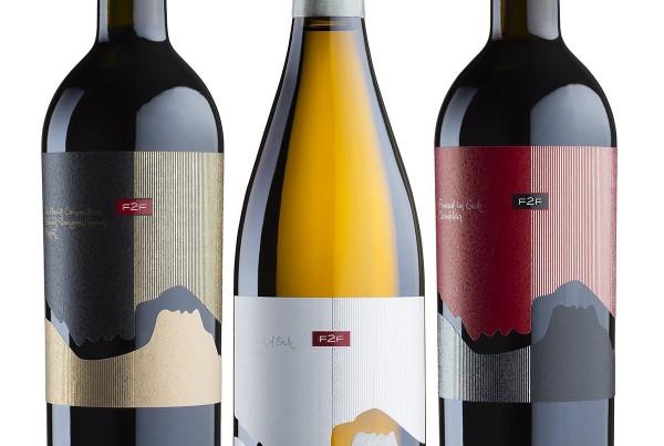 F2F wine label
