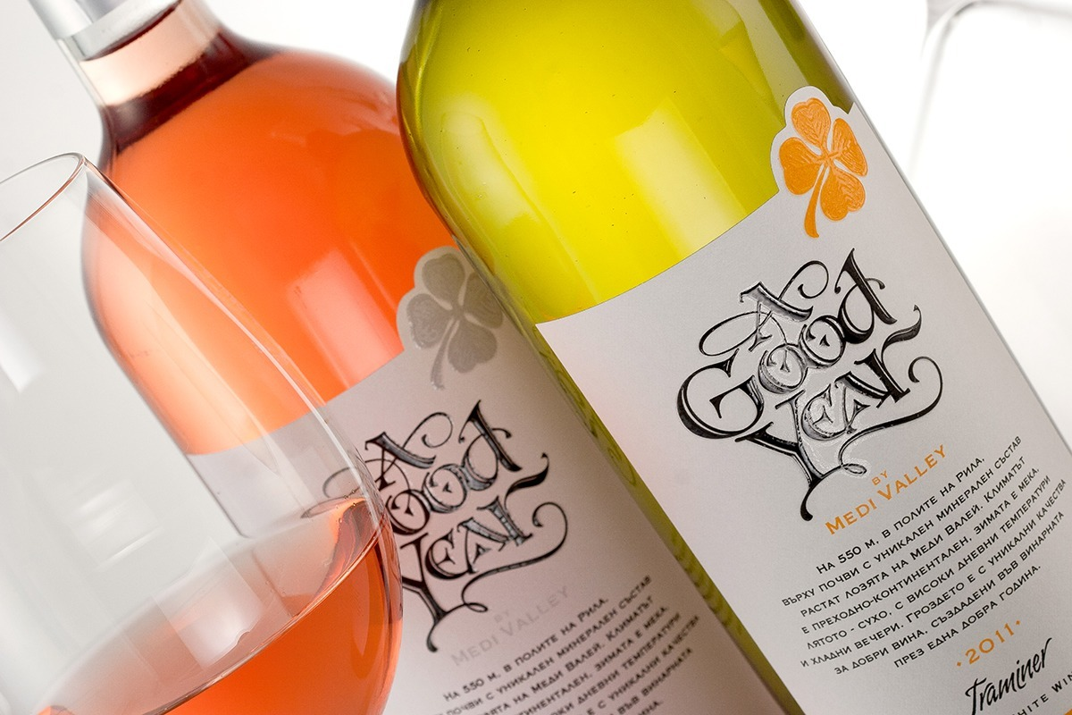 Good Year wine label