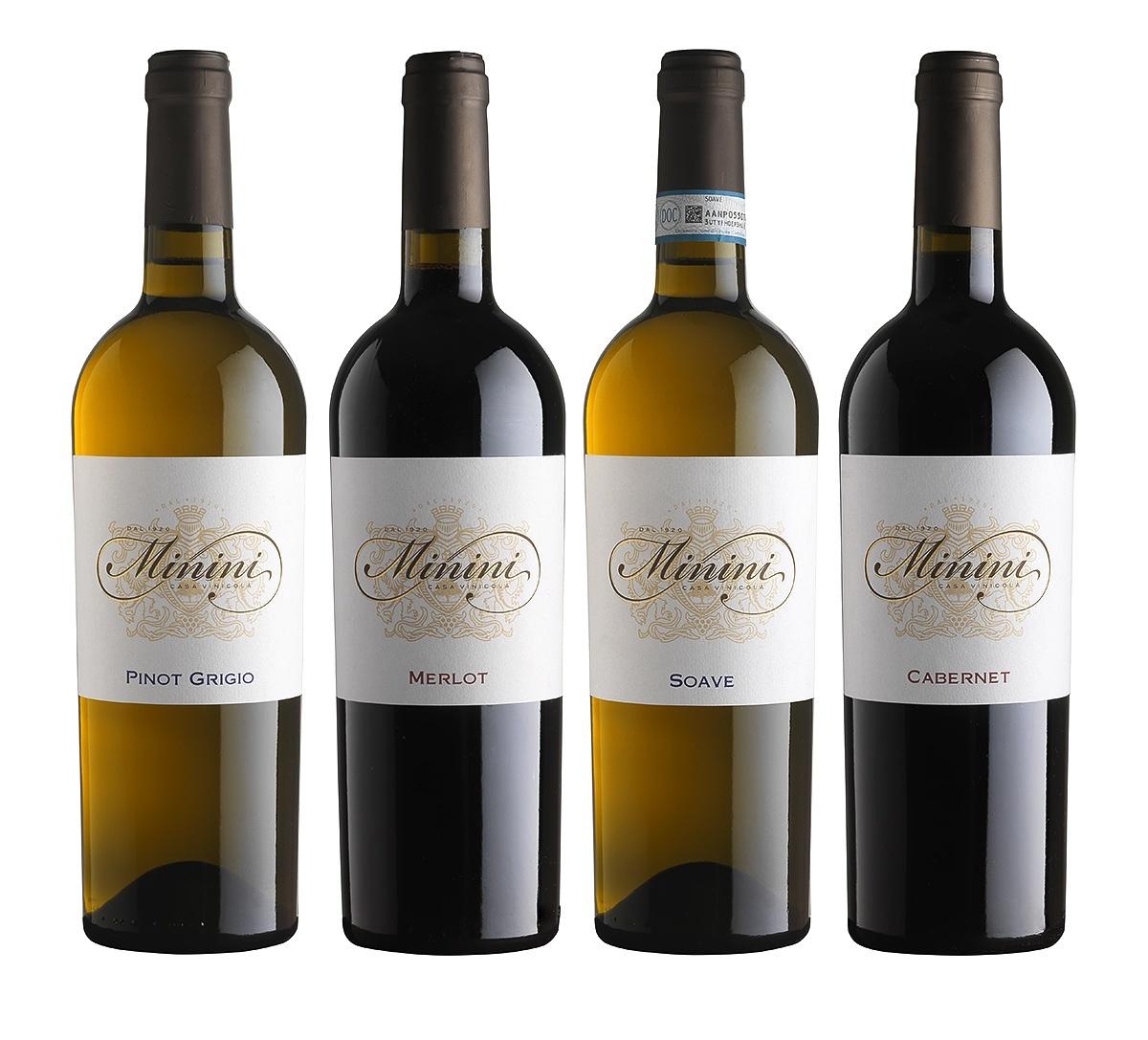 Minini wine label u2013 the spirit of Tuscany