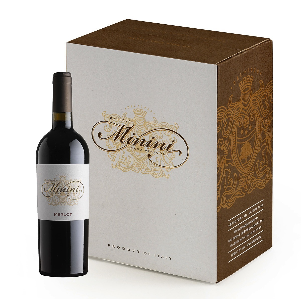 Minini wine label