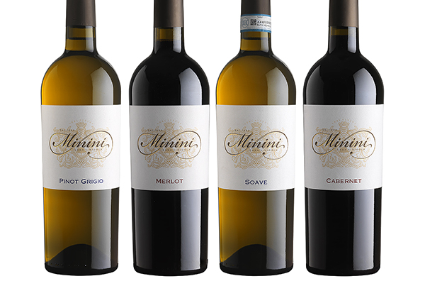 Minini wine labels