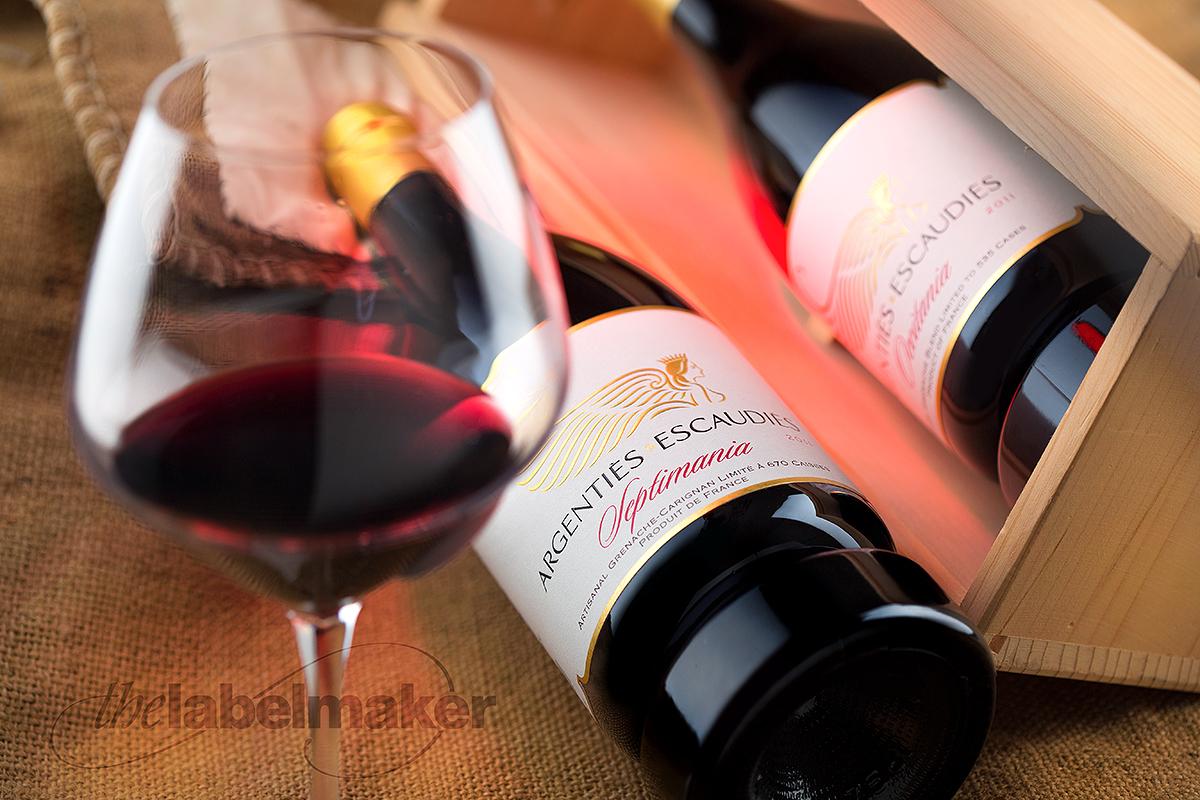 Premium wine label
