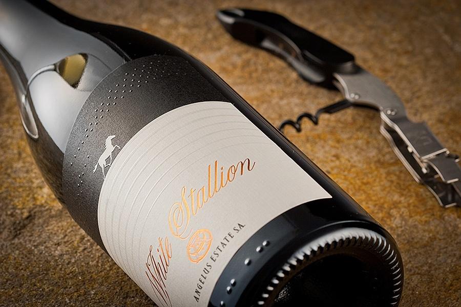 Stallion wine labels