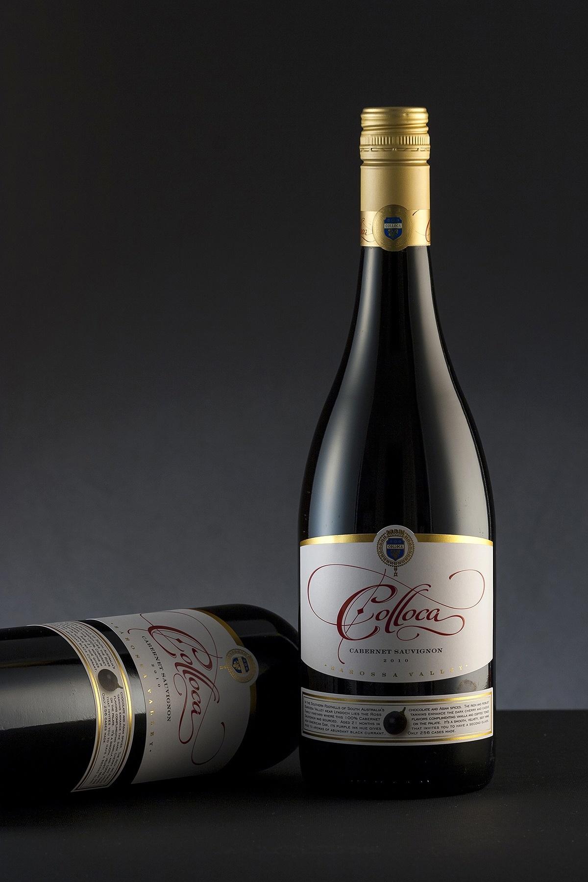 Colloca Estate wine label