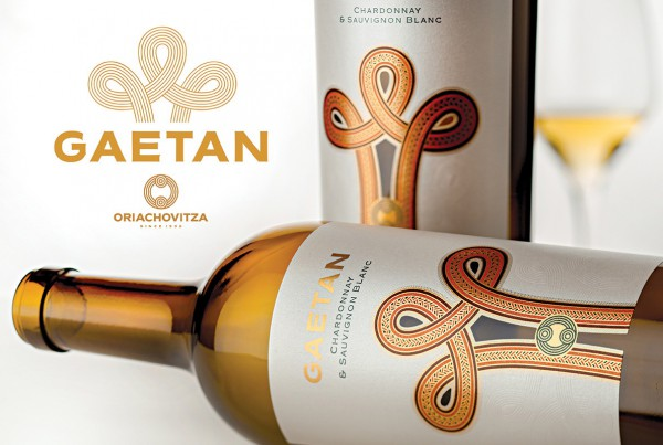 Gaetan wine label