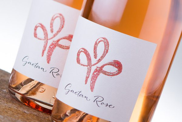 Gaetan Rose wine label