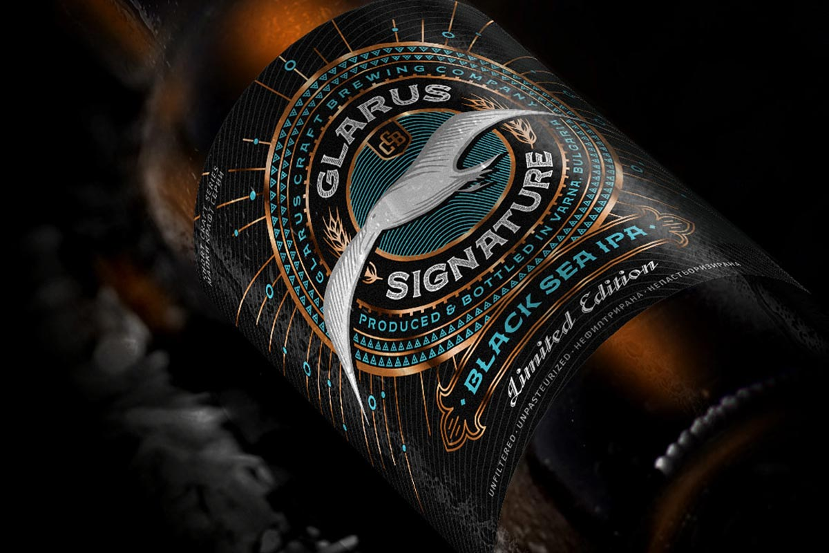 Glarus Signature – Latest Craft Beer Bottle Label Design