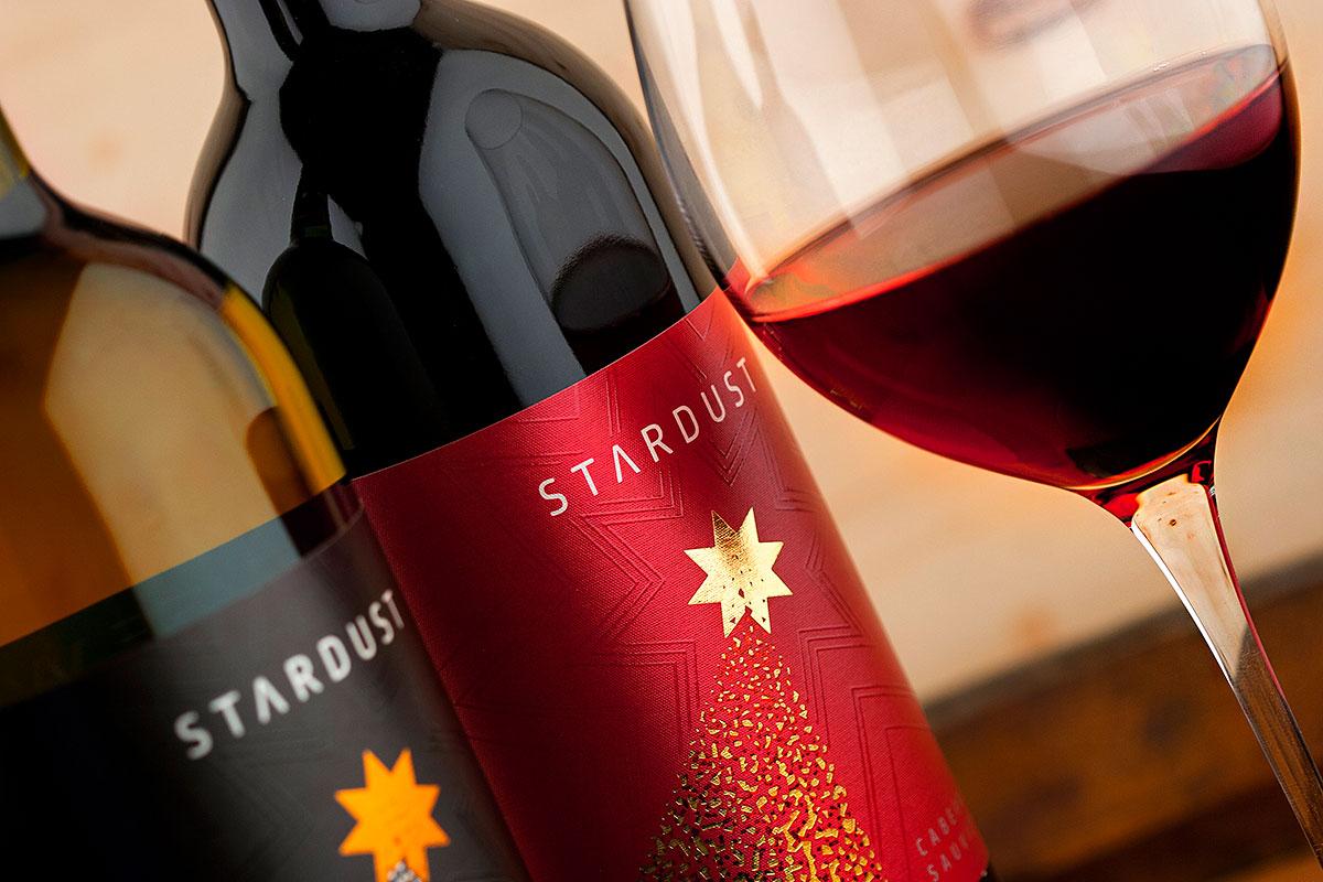 Stardust wine label