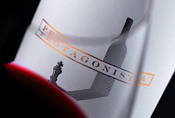 Protagonista – an Amazing Wine Label Design