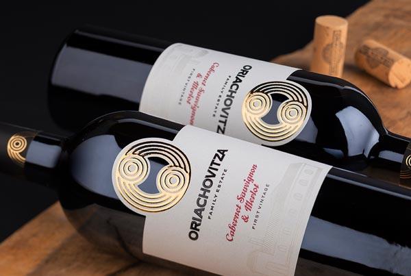 Oriachovitza Wine Label