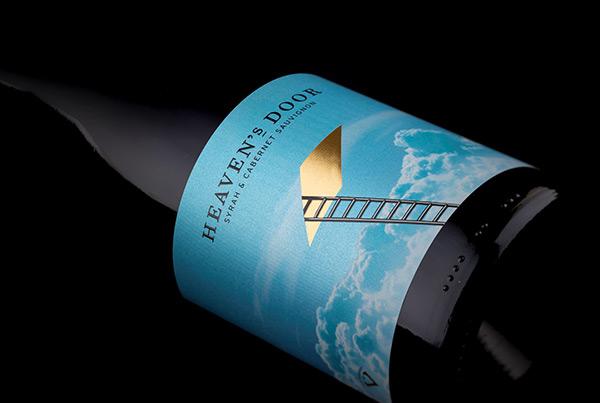 Heaven's Door Wine Label