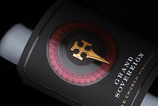 Grand Sovereign Wine Packaging Design