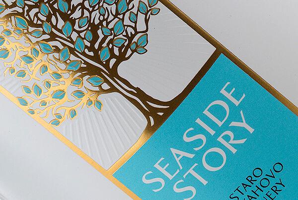 Seaside Story Wine Brand Creation