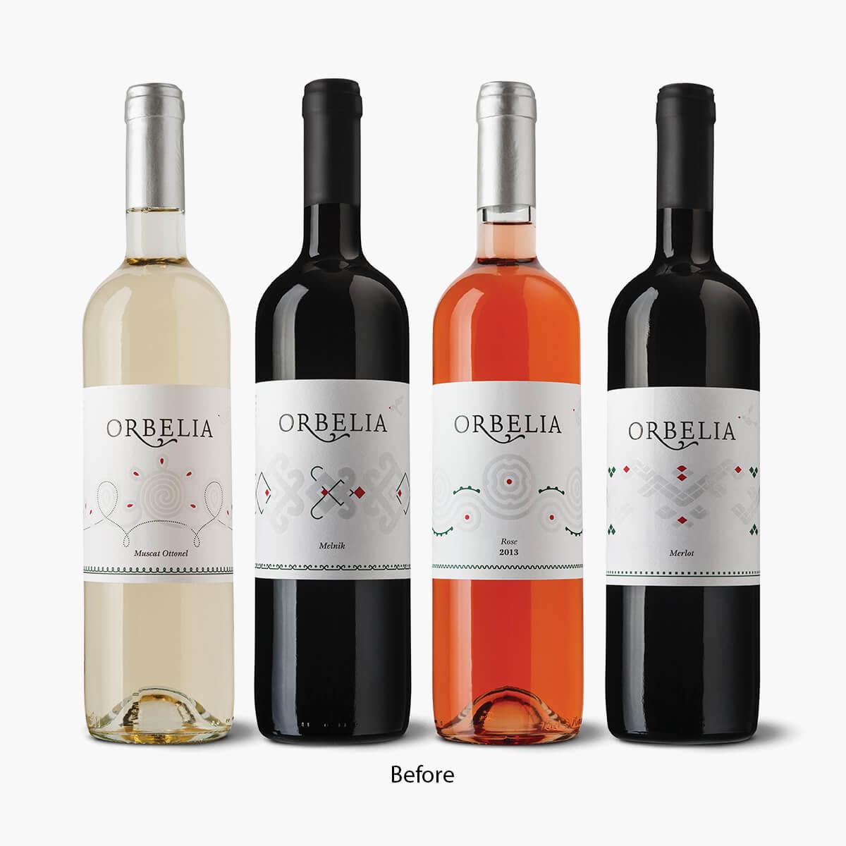 wine brand redesign