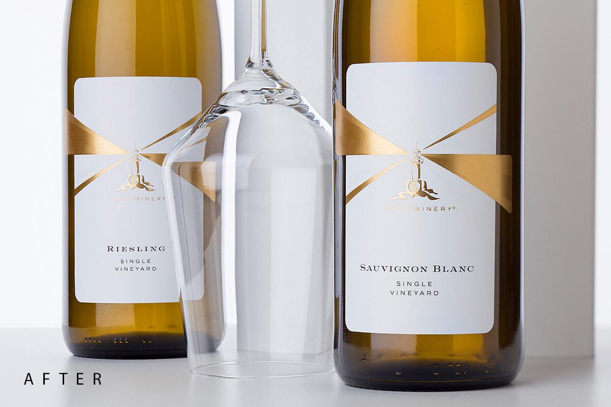 wine label restyle varna winery