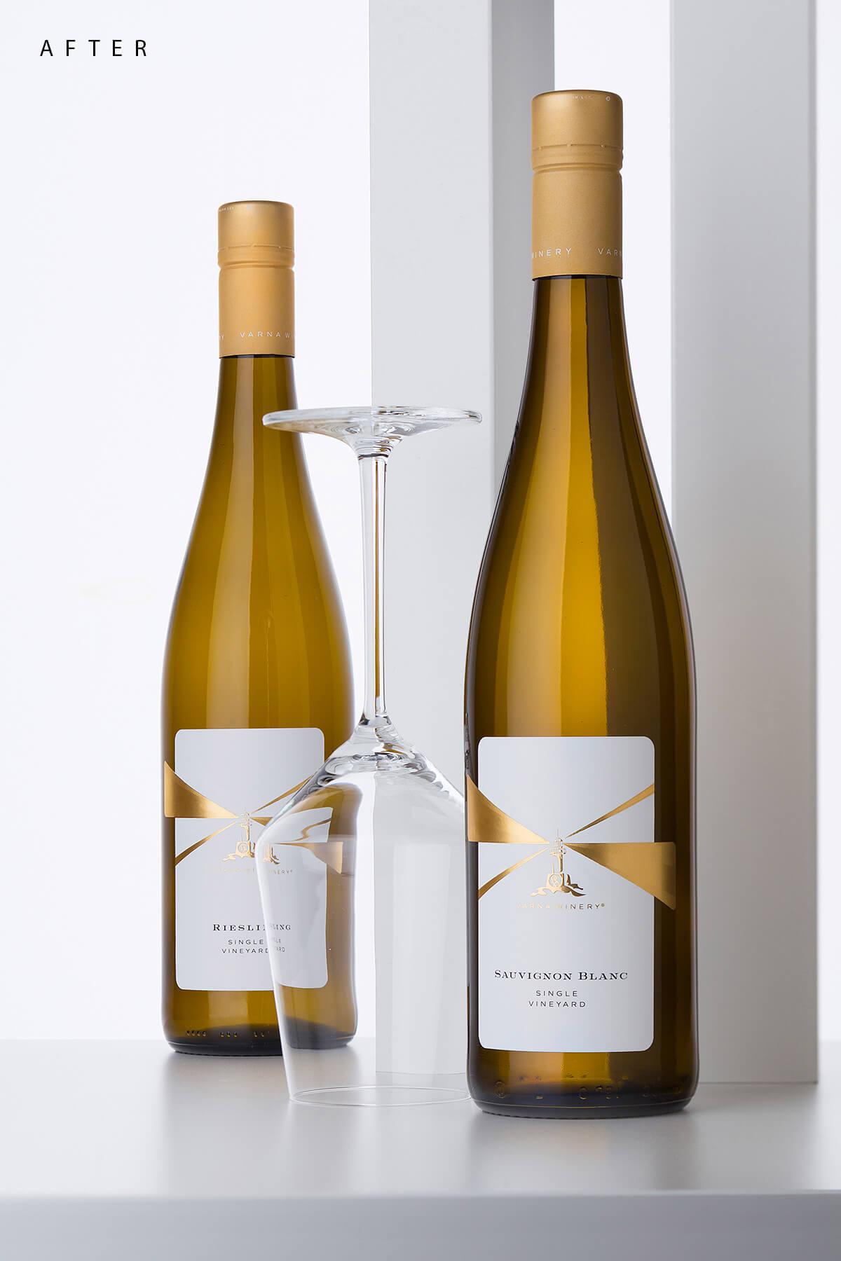 wine label restyle