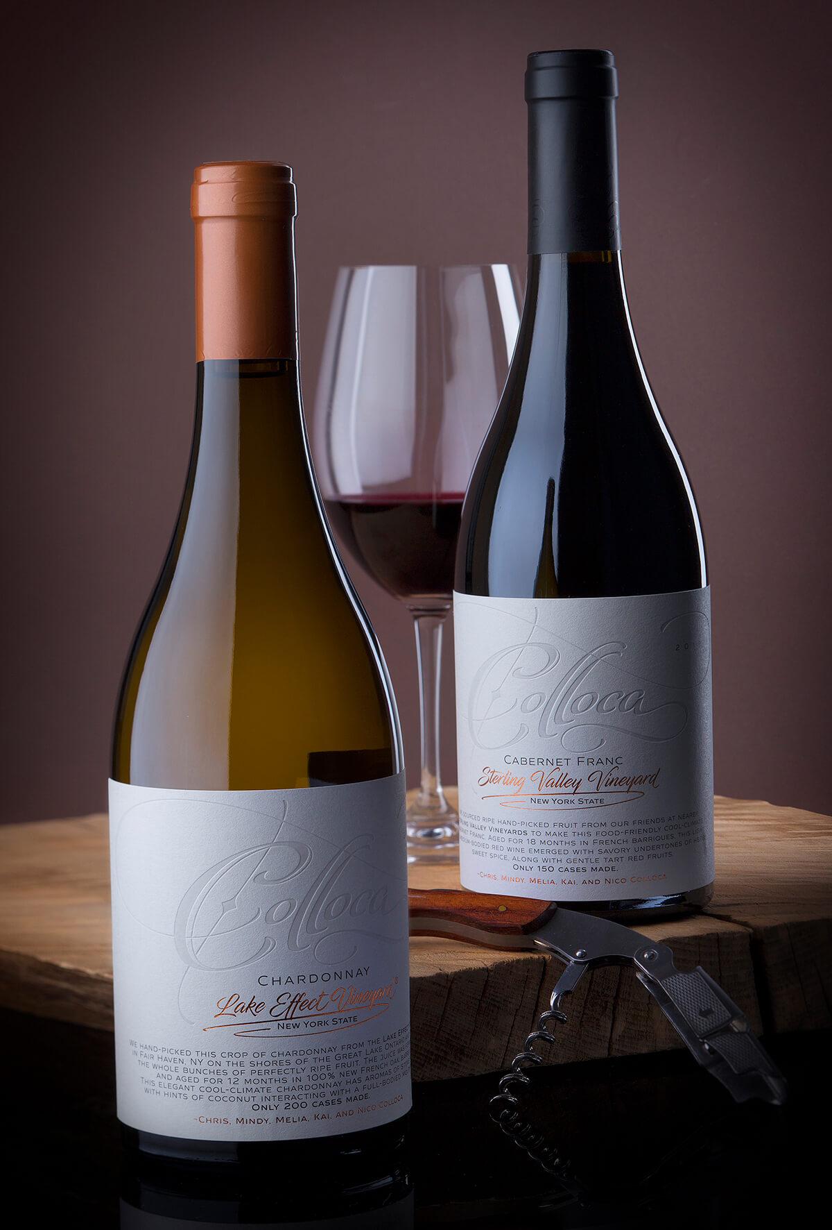beautiful wine label