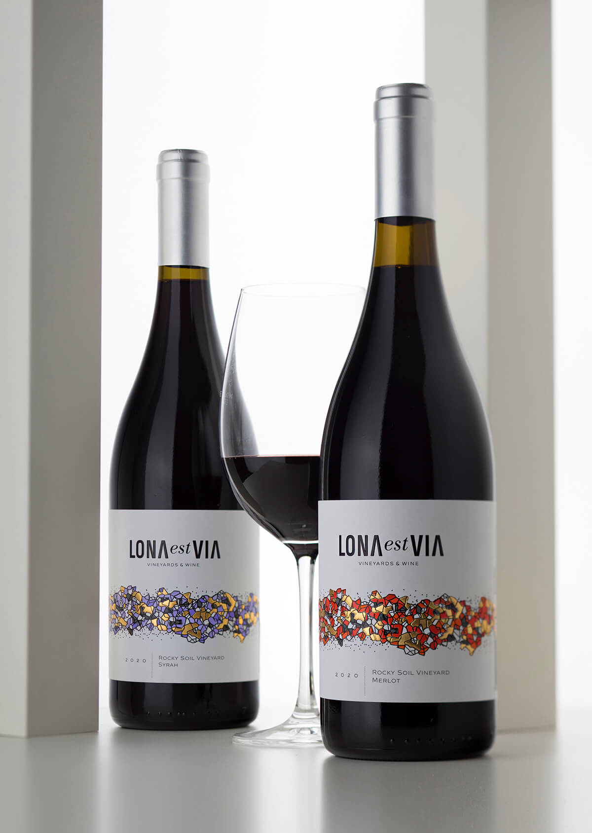 Wine Label Project - Lona
