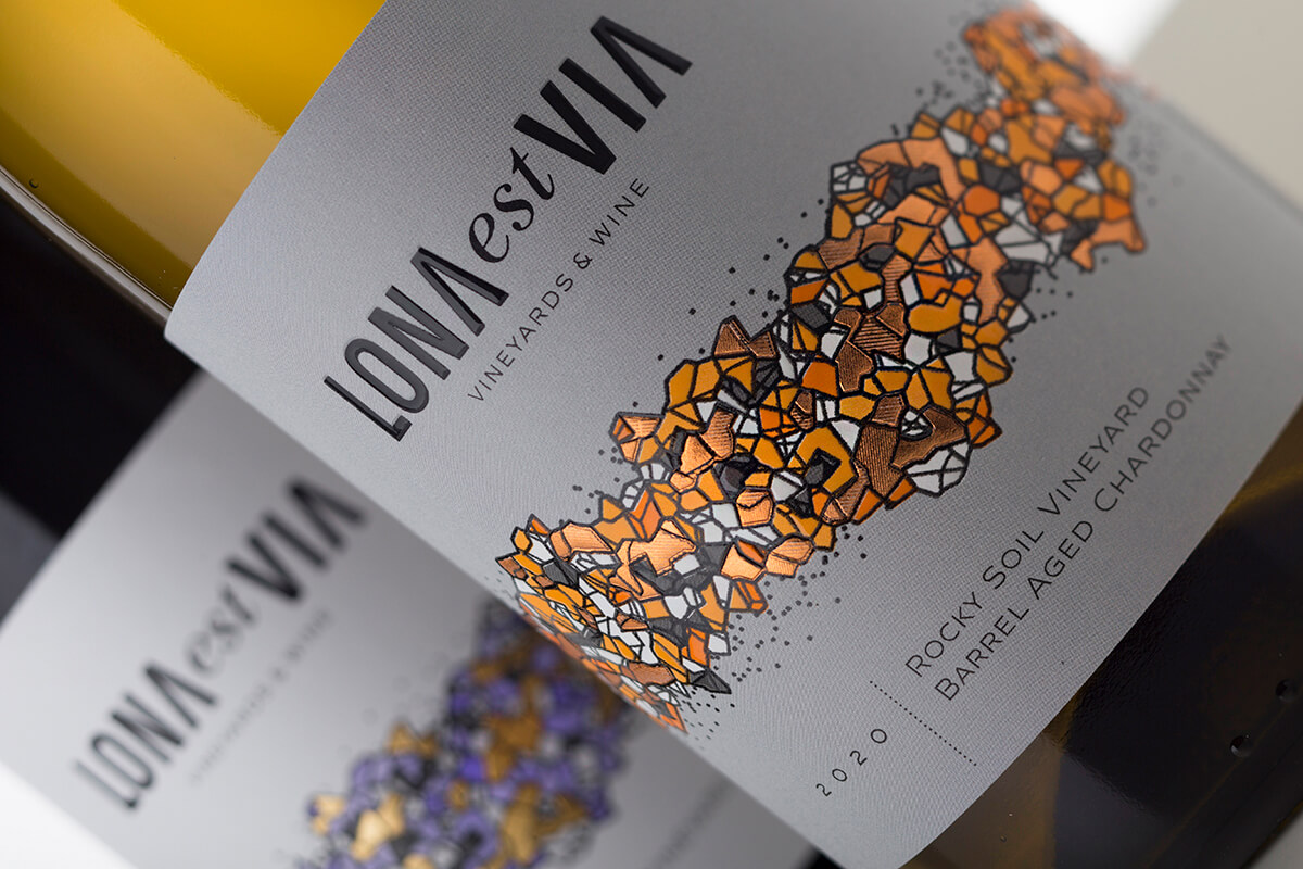 Wine Label - Lona