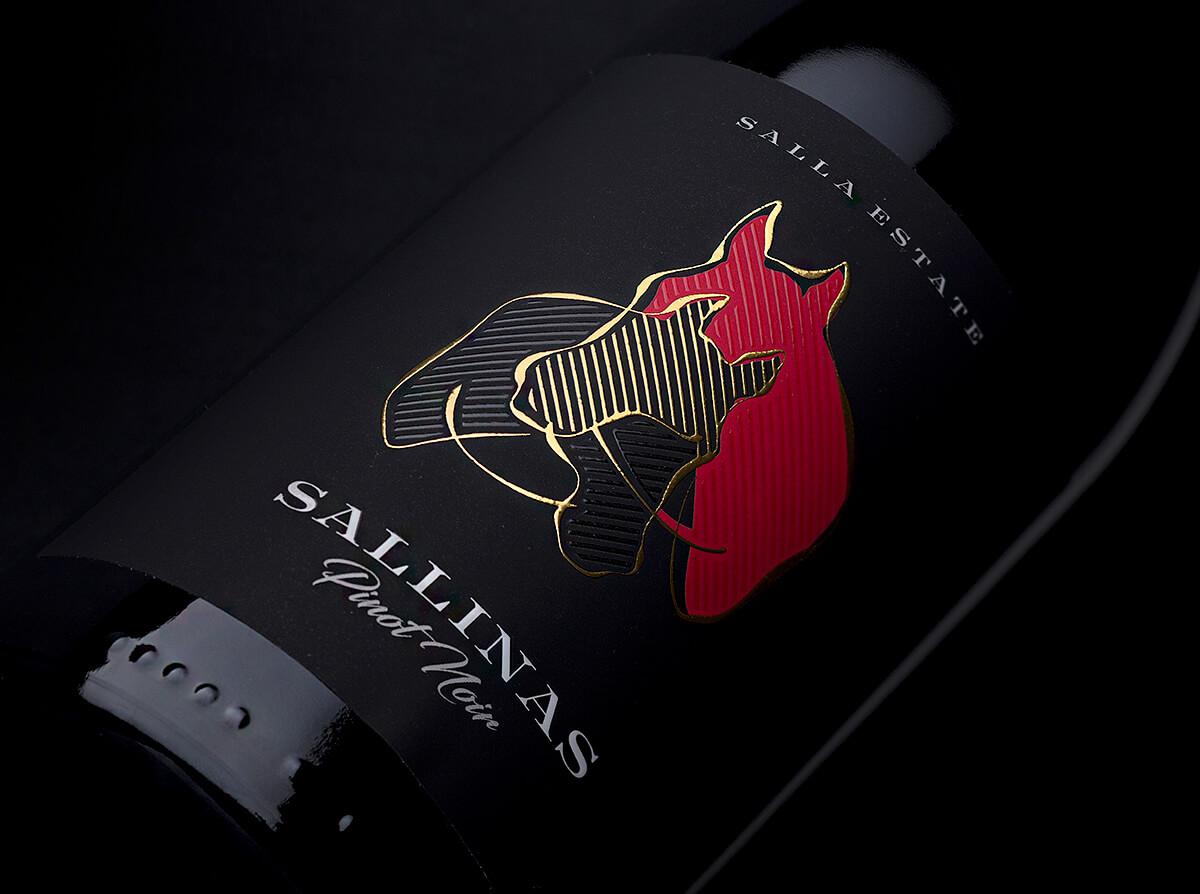 sallinas wine label