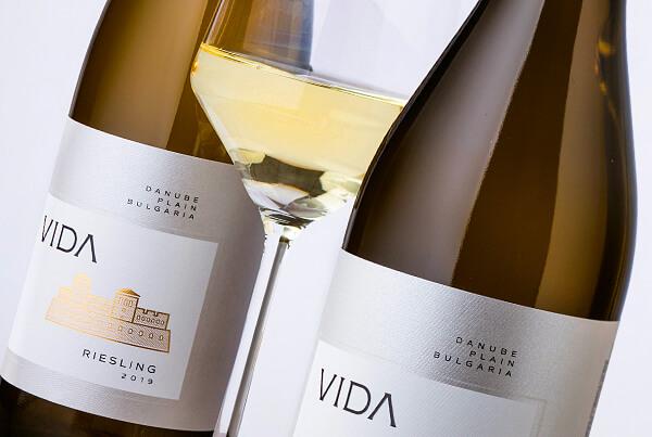 Vida Wine Label Design