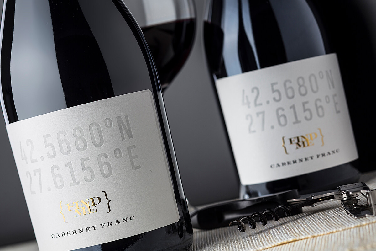 wine label GPS