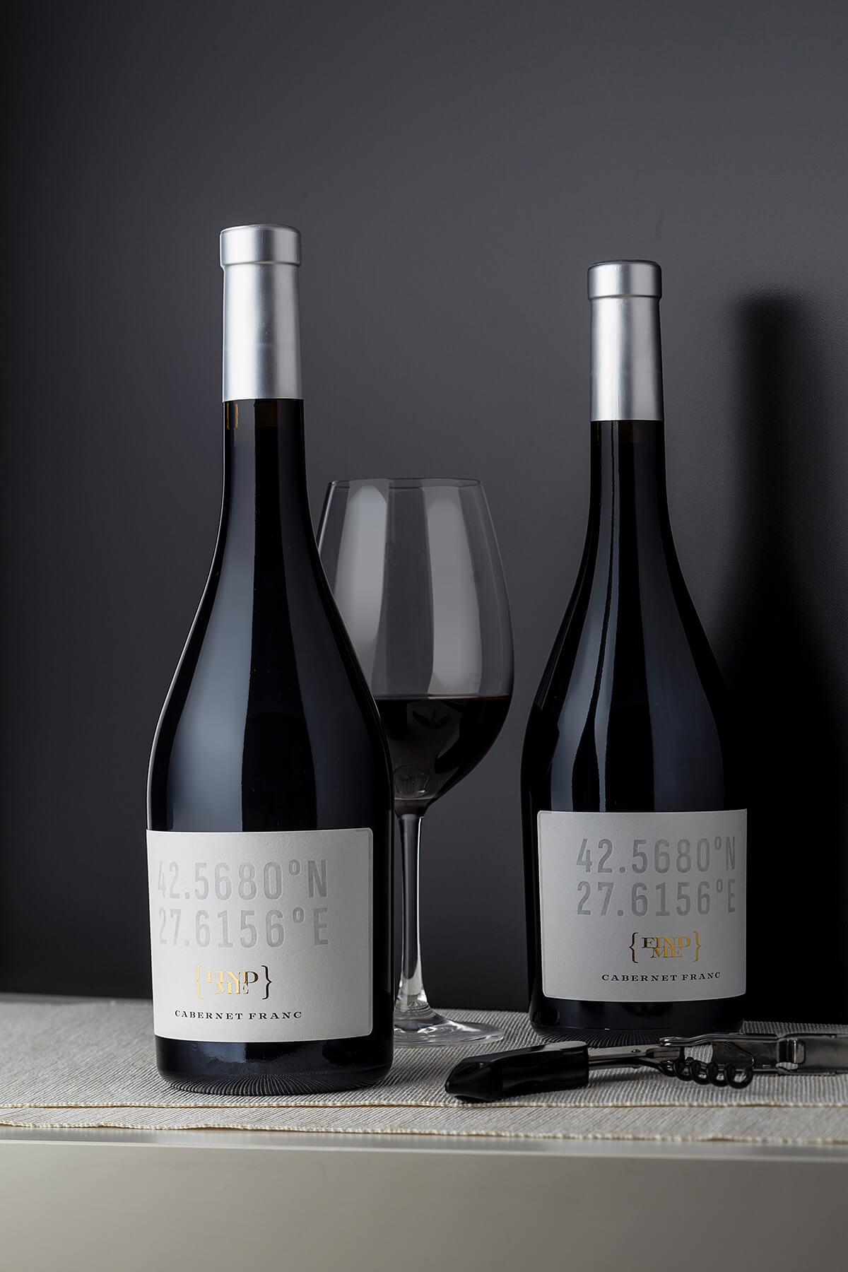 wine label coordinates