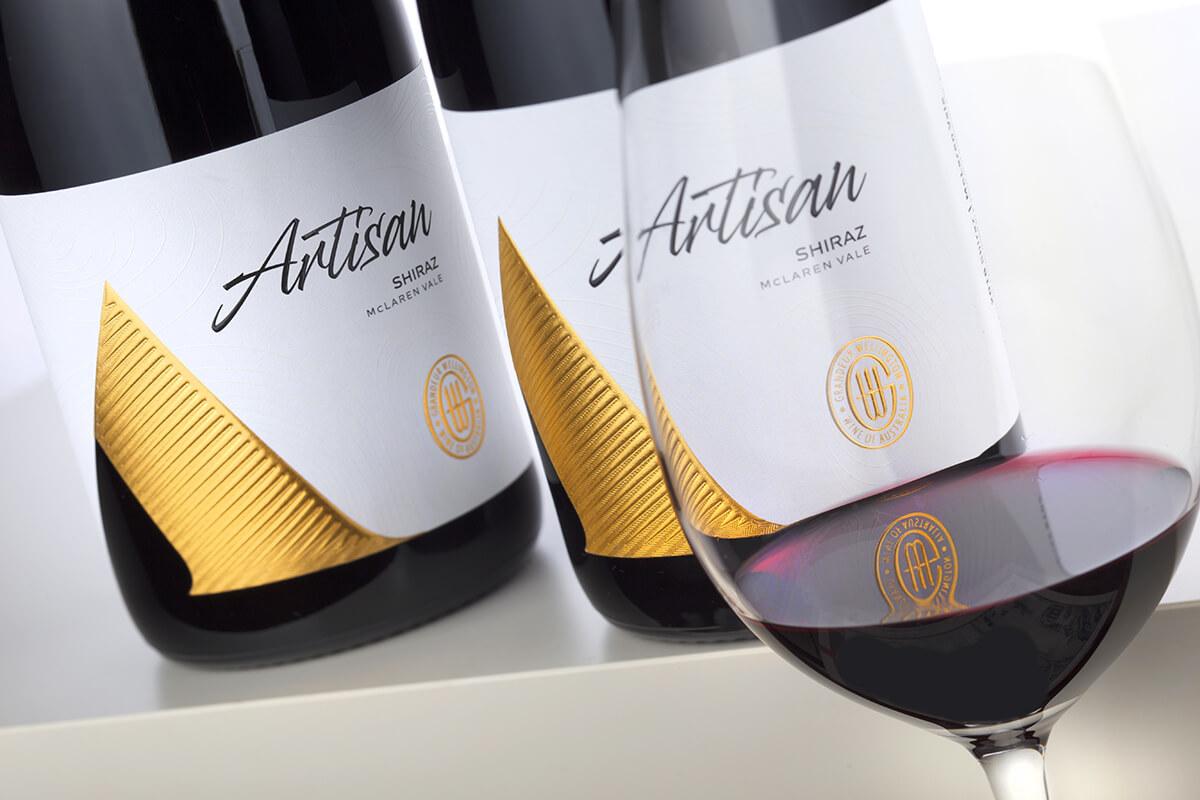 australia wine label design